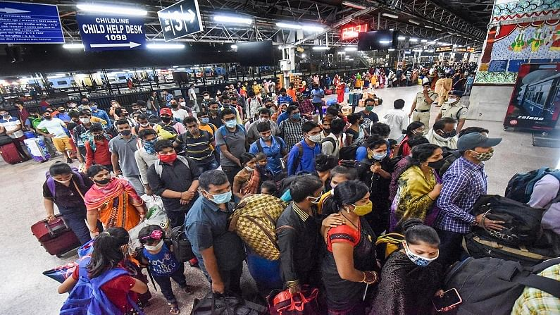 migrants, Patna, Maharashtra, covid-19, patna railway station, UP